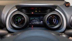 Toyota Yaris Cross X Hybrid - Digital Gauge Cluster