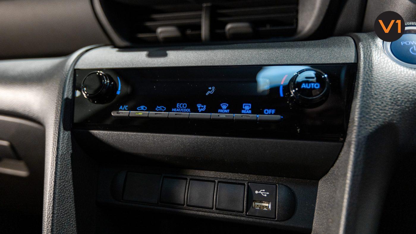 Toyota Yaris Cross X Hybrid - HVAC System