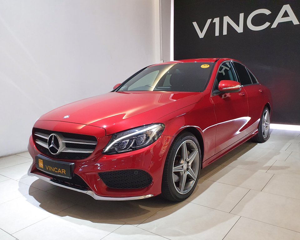 2014 Mercedes-Benz C-Class C200 AMG Line - Front Angle