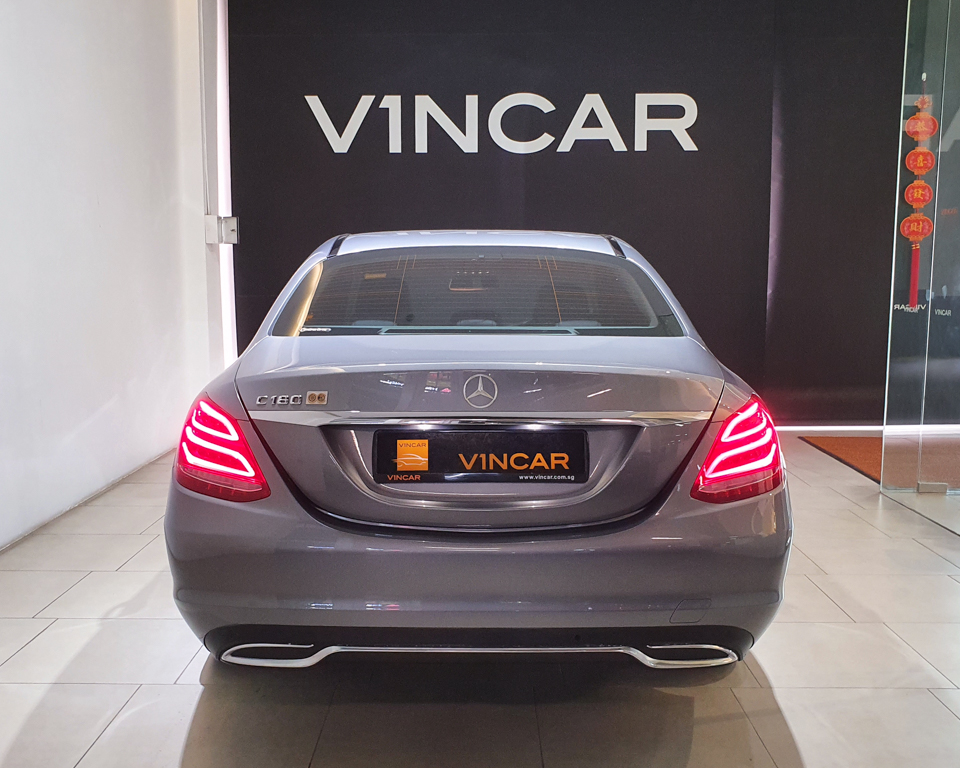 2016 Mercedes-Benz C-Class C180 Avantgarde - Rear Direct