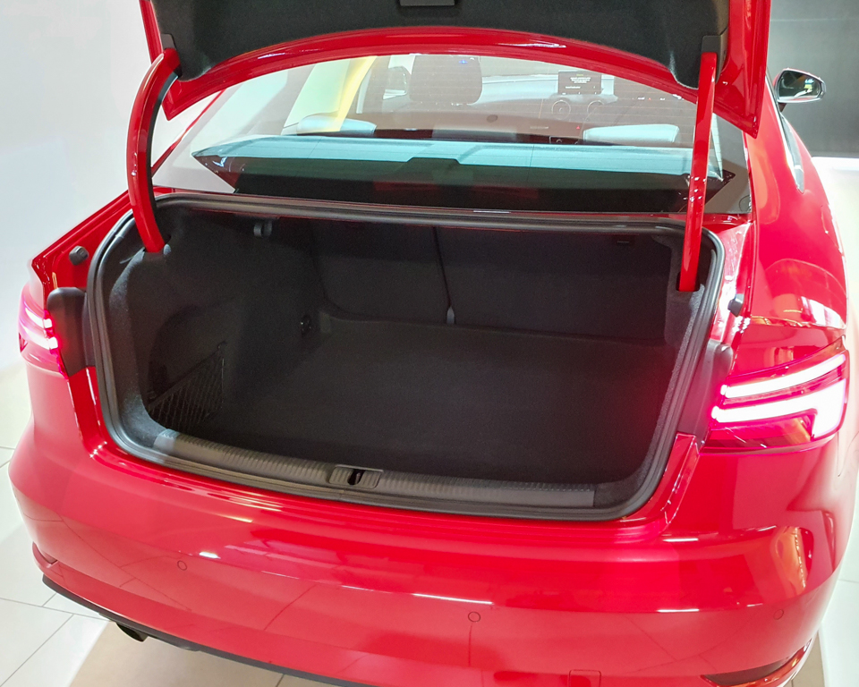 Audi A3 Saloon- Boot Trunk