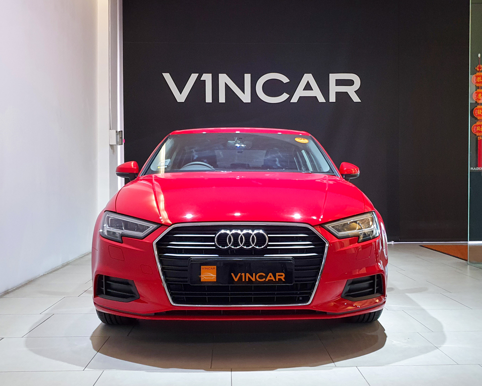 Audi A3 Saloon - Front Direct