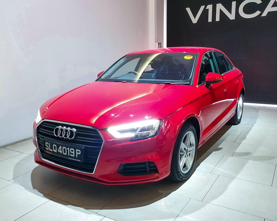 Audi A3 Saloon - Plate