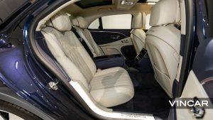 Bentley Flying Spur First Edition W12 - Back Seat