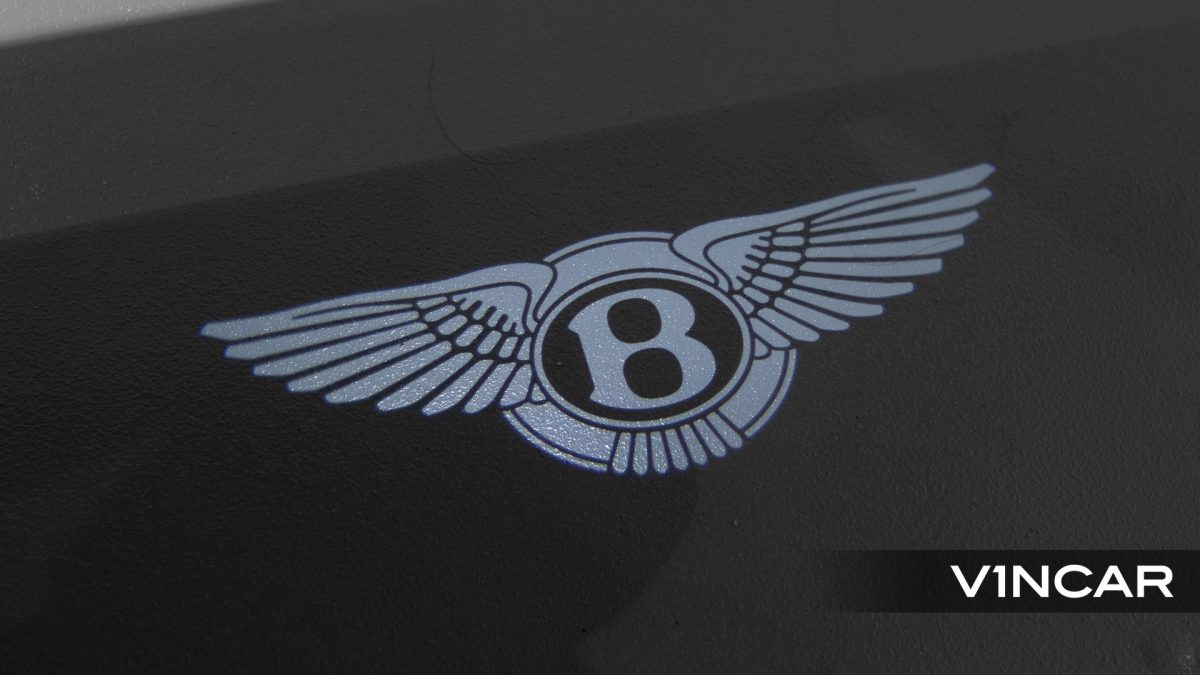 Bentley Flying Spur First Edition W12 - Bentley Logo