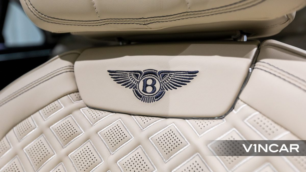 Bentley Flying Spur First Edition W12 - Embroidered Bentley Emblem