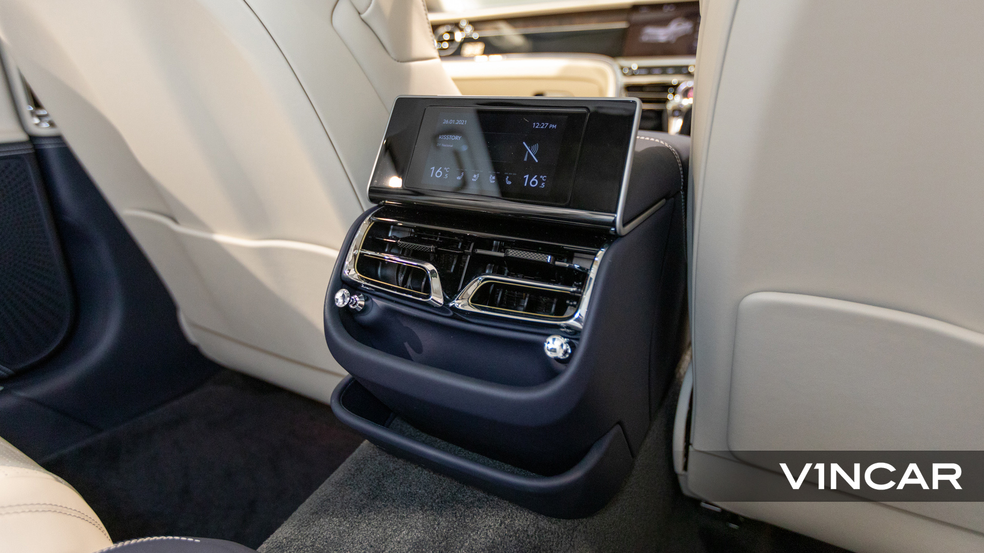 Bentley Flying Spur First Edition W12 - HVAC System
