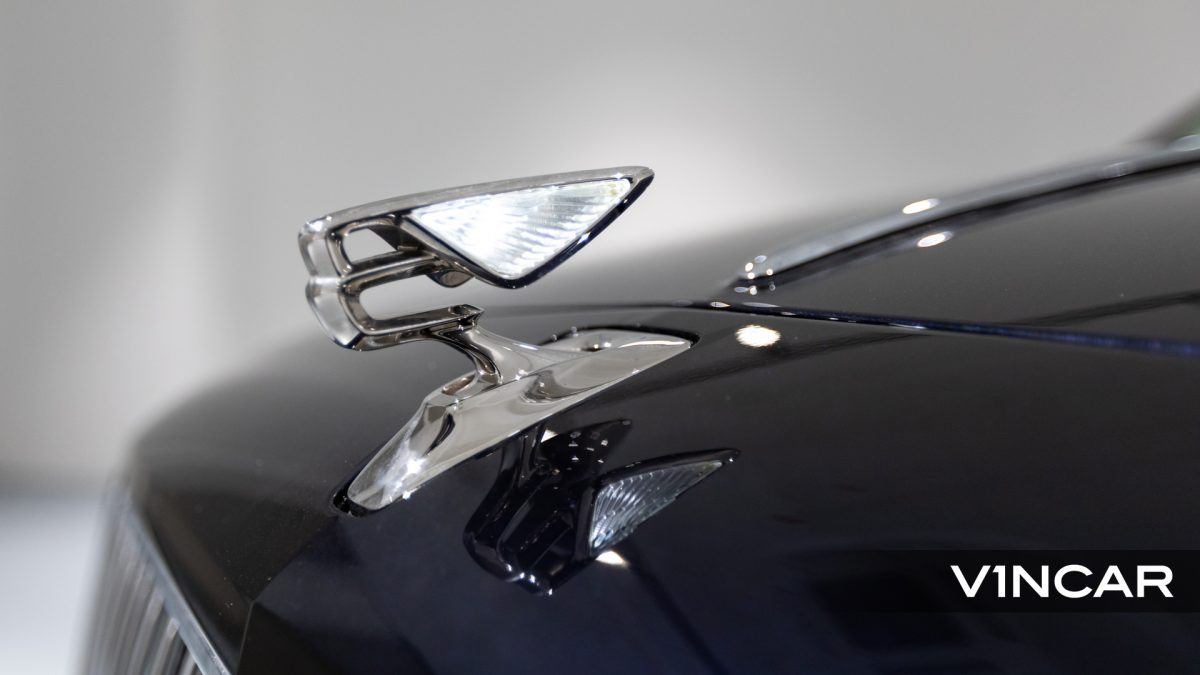 Bentley Flying Spur First Edition W12 - Illuminated Flying B Radiator Mascot