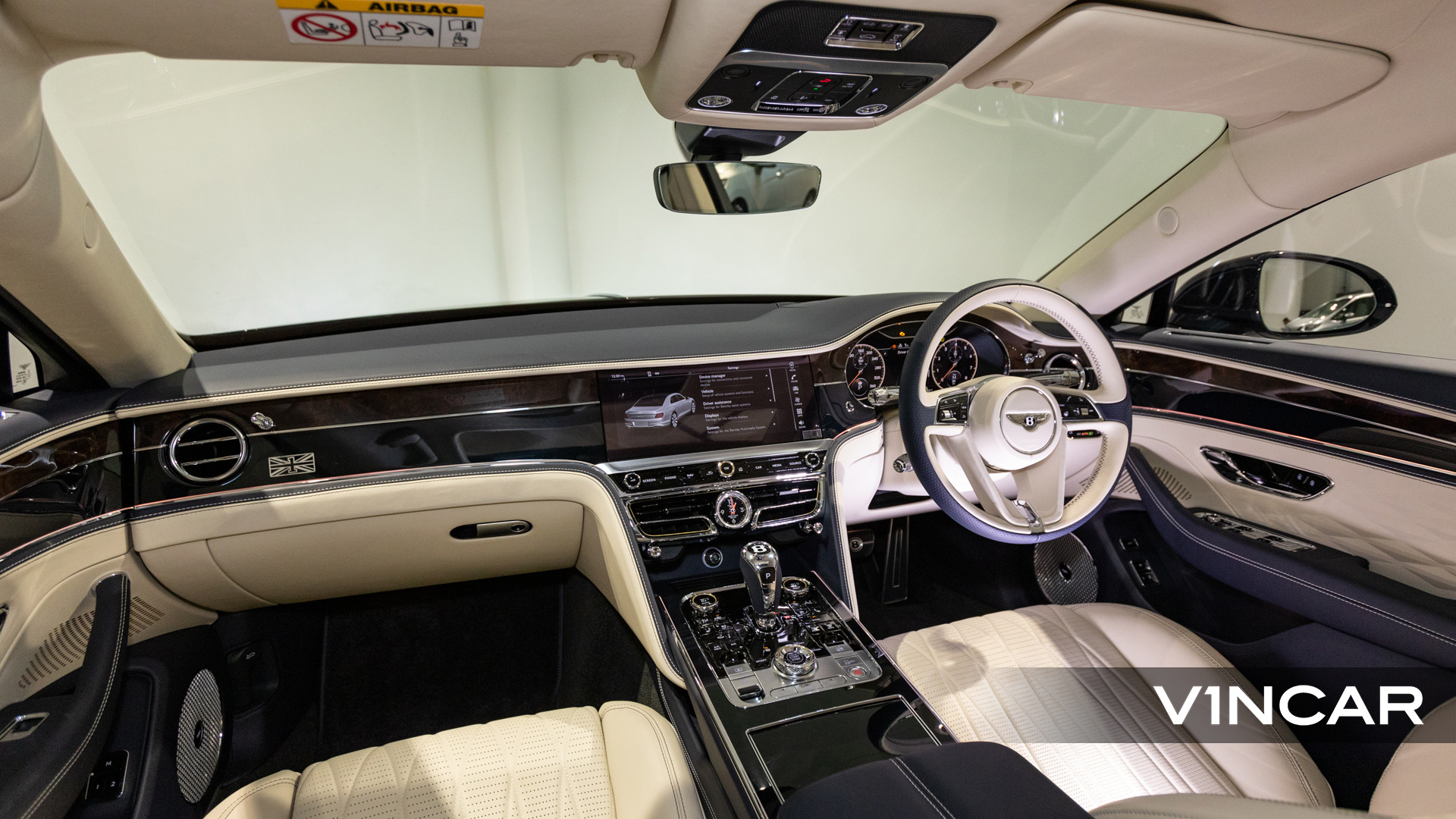 Bentley Flying Spur First Edition W12 - Interior Dashboard