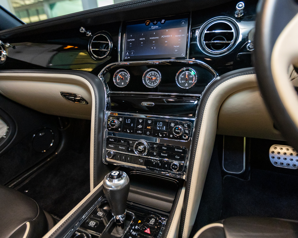 Bentley Mulsanne Speed 6.7 Twin Turbo - Infotainment