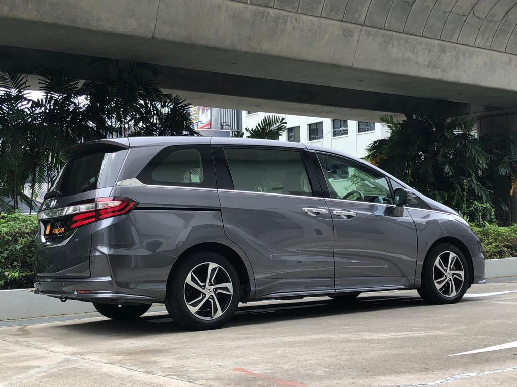 Honda Odyssey 2.4A EXV-S Sunroof - Rear Side Profile