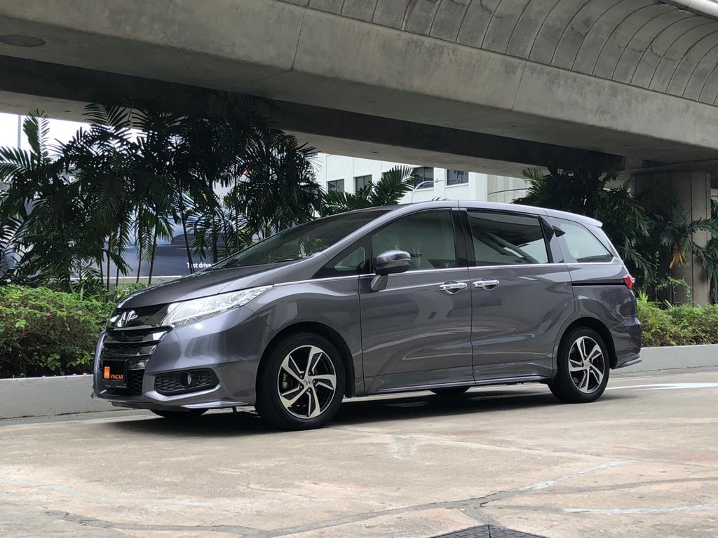 Honda Odyssey 2.4A EXV-S Sunroof - Side Profile