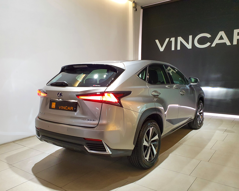 Lexus NX Hybrid NX300h Luxury - Rear Quarter Angle