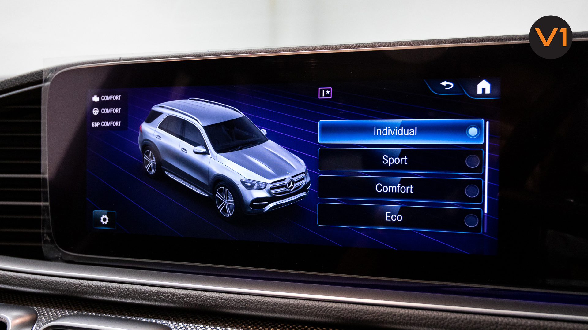 MERCEDES-BENZ GLE450 AMG 4MATIC LUXURY - Driver Mode Options