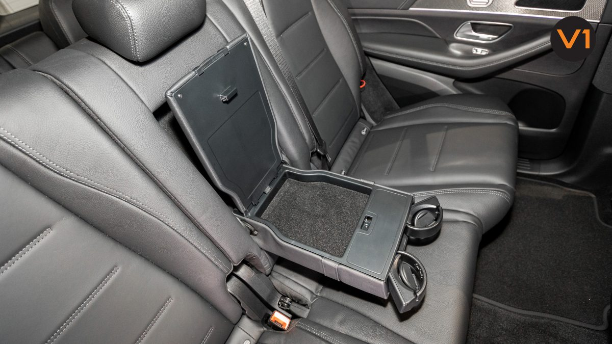 MERCEDES-BENZ GLE450 AMG 4MATIC LUXURY - Rear Seat Cupholder and table