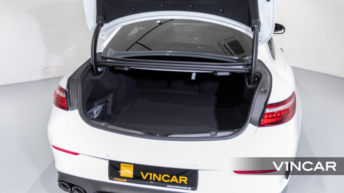 Mercedes-AMG E53 Coupe AMG Night Edition Premium Plus (FL2021) - Boot Trunk