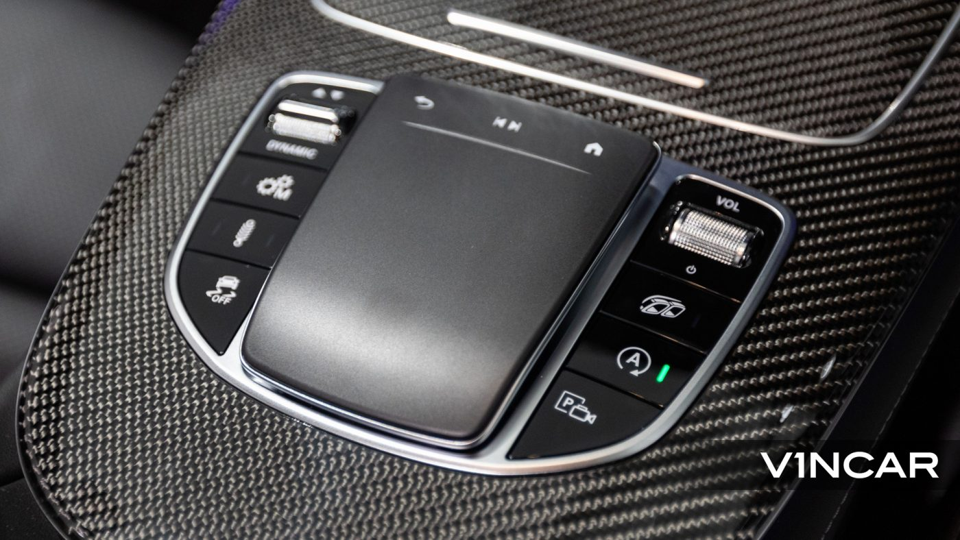 Mercedes-AMG E53 Coupe AMG Line Night Edition Premium Plus (FL2021) - Center Console Touchpad