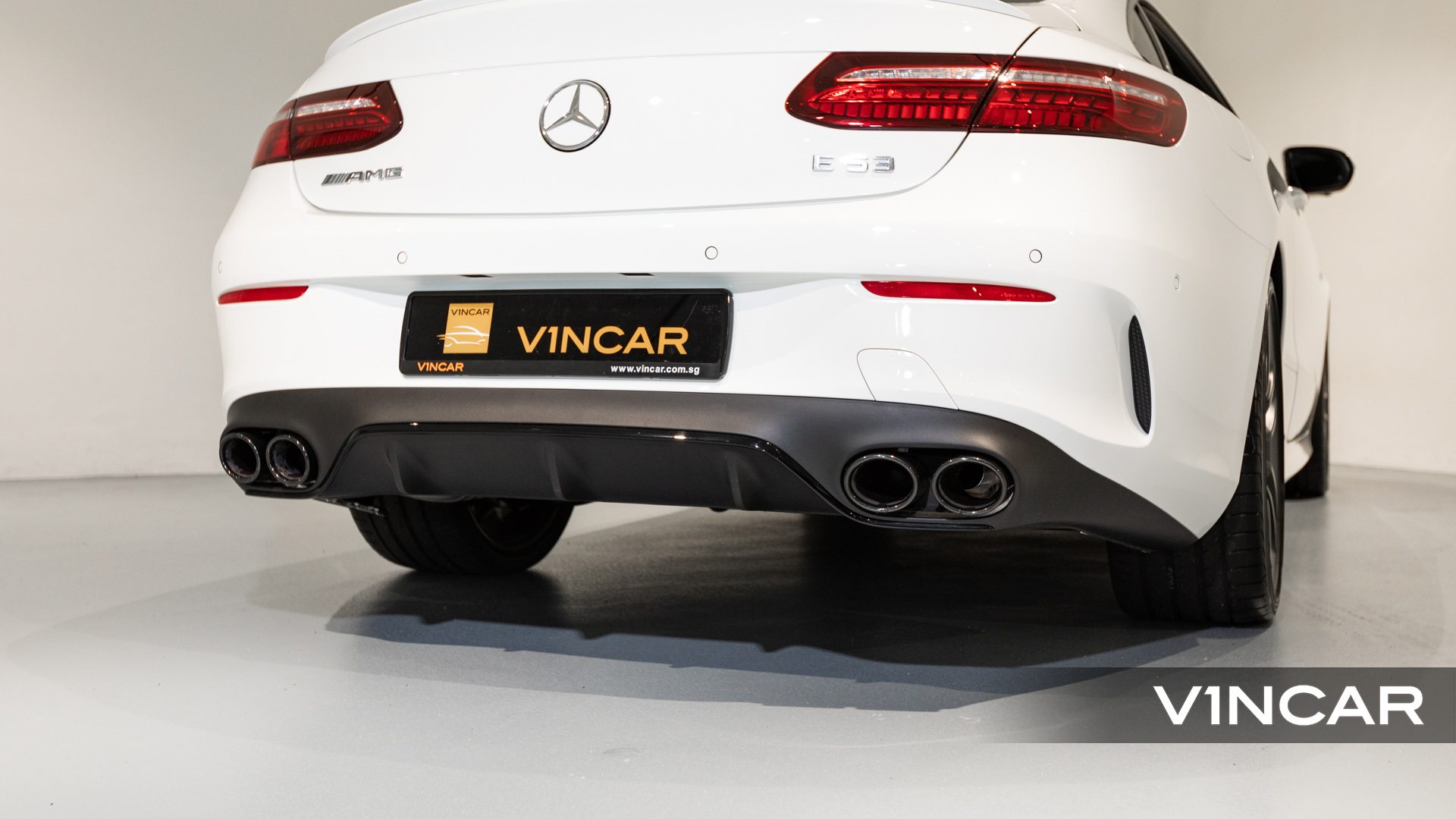 Mercedes-AMG E53 Coupe AMG Night Edition Premium Plus (FL2021) - Exhaust System