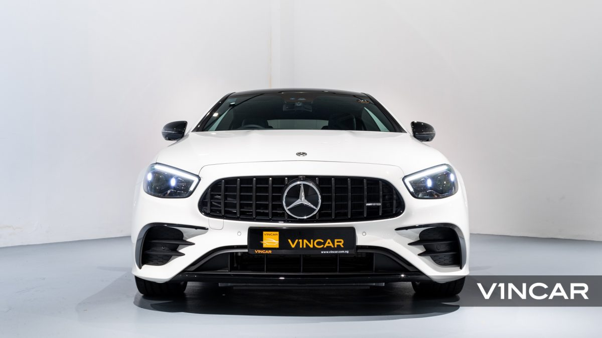 Mercedes-AMG E53 Coupe AMG Night Edition Premium Plus (FL2021) - Front Direct