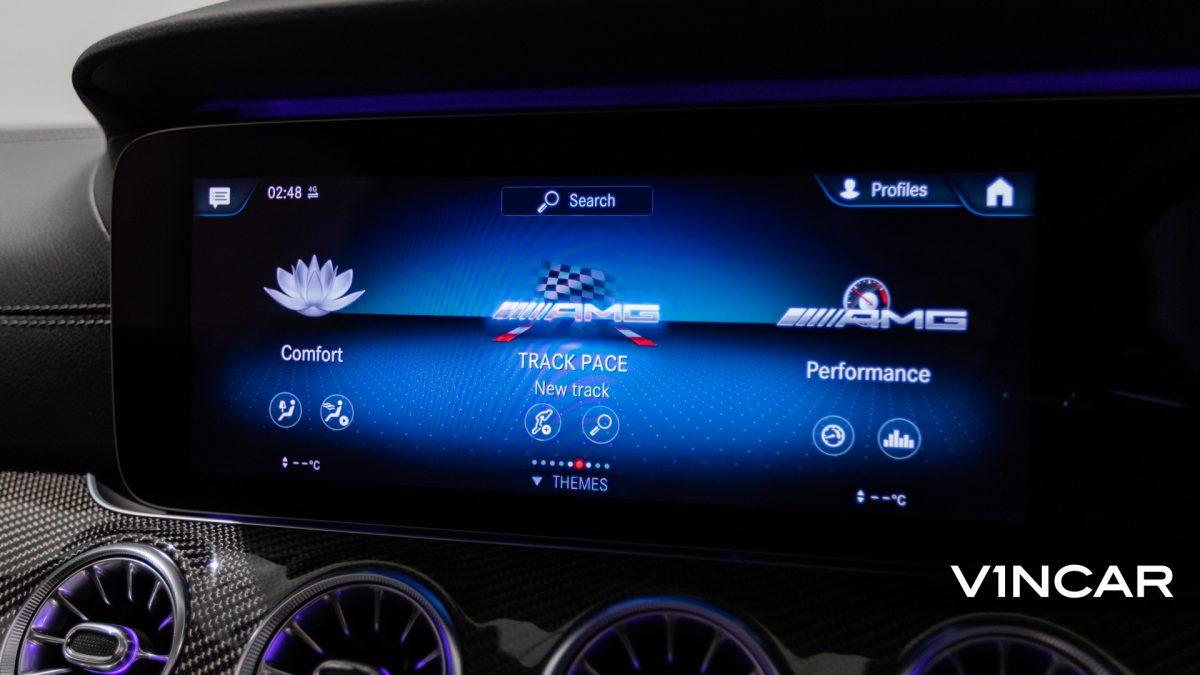 Mercedes-AMG E53 Coupe AMG Night Edition Premium Plus (FL2021) - Infotainment