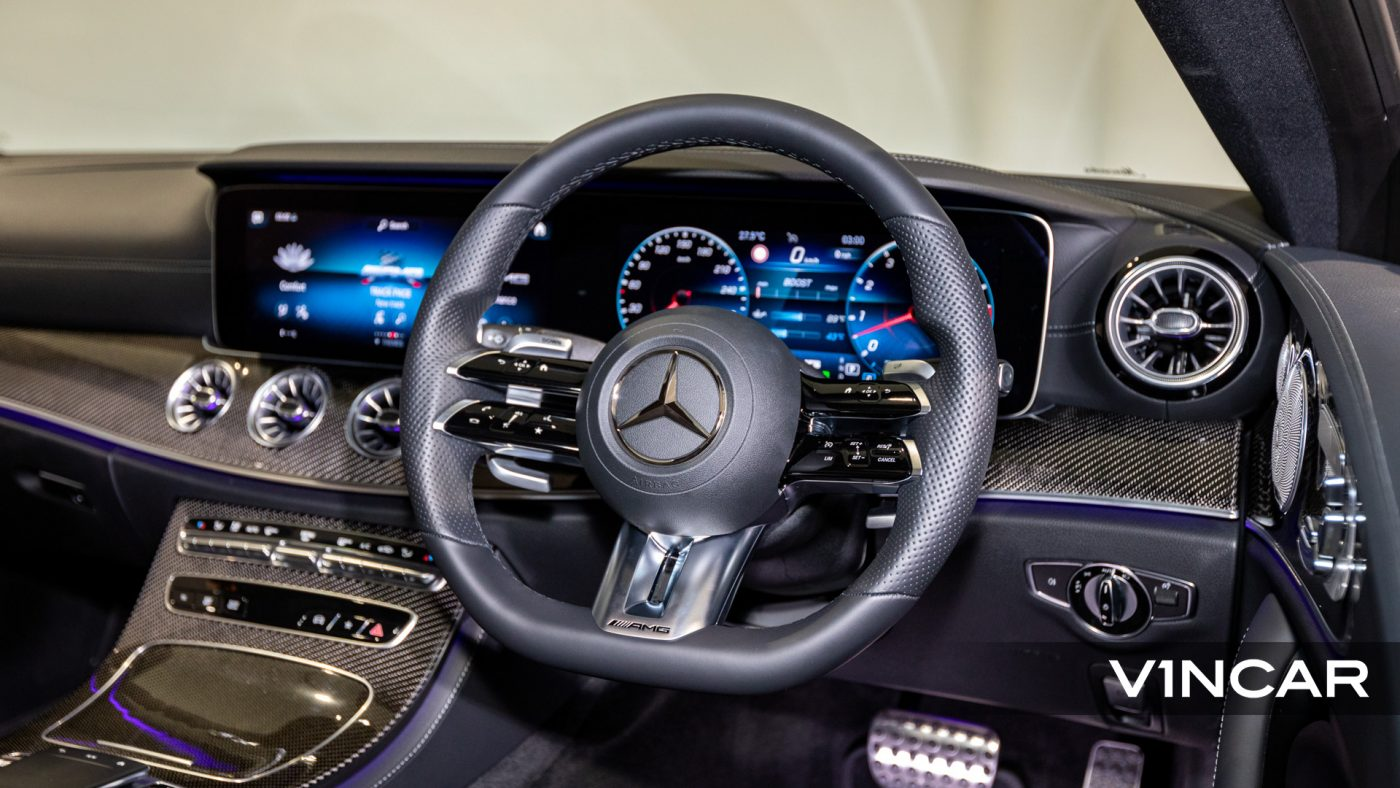 Mercedes-AMG E53 Coupe AMG Line Night Edition Premium Plus (FL2021) - Multifunction Steering Wheel