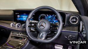 Mercedes-AMG E53 Coupe AMG Night Edition Premium Plus (FL2021) - Multifunction Steering Wheel
