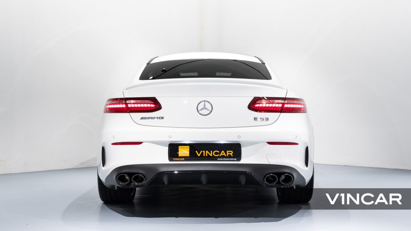 Mercedes-AMG E53 Coupe AMG Line Night Edition Premium Plus (FL2021) - Rear Direct