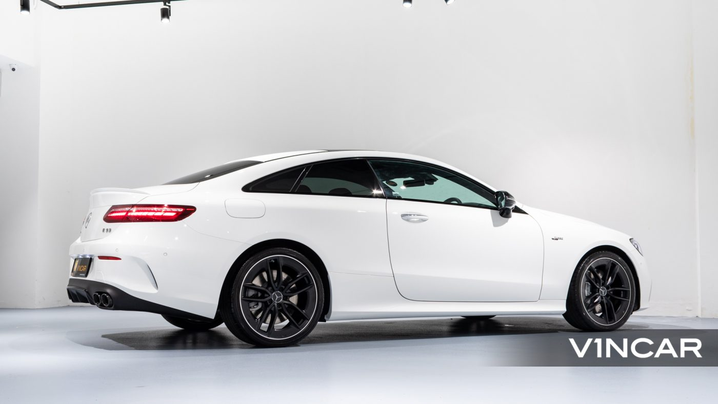 Mercedes-AMG E53 Coupe AMG Line Night Edition Premium Plus (FL2021) - Rear Side Profile