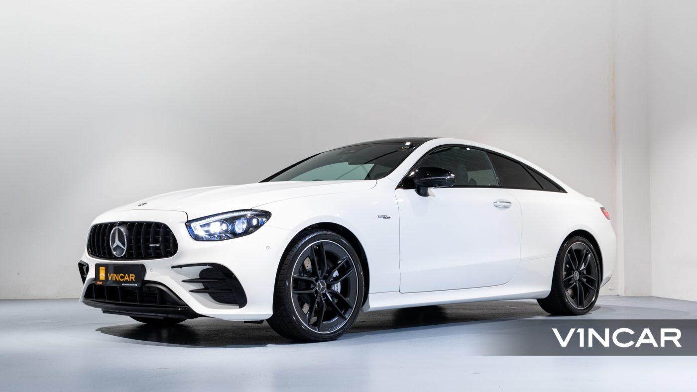 Mercedes-AMG E53 Coupe AMG Line Night Edition Premium Plus (FL2021) - Side Profile