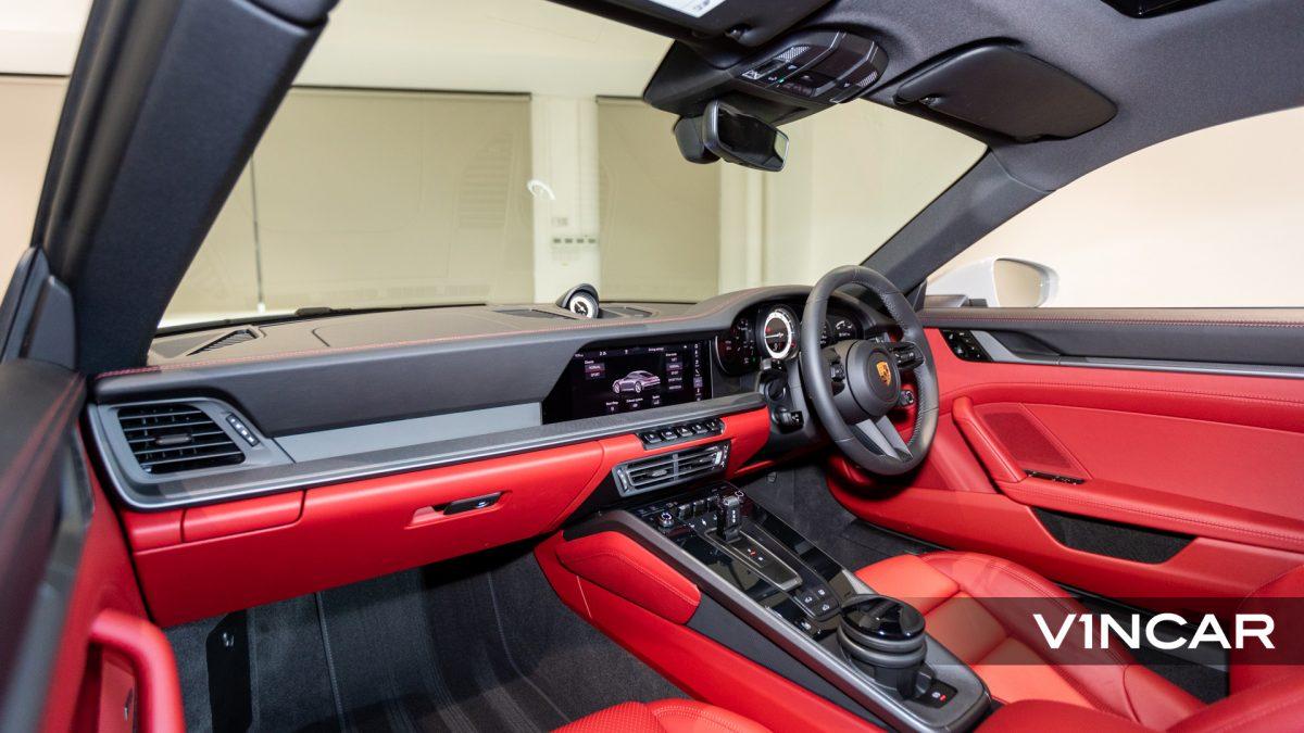 PORSCHE 911 CARRERA (CRAYON)-Dashboard