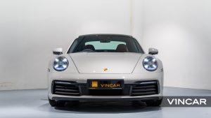 PORSCHE 911 CARRERA (CRAYON)-Front Direct