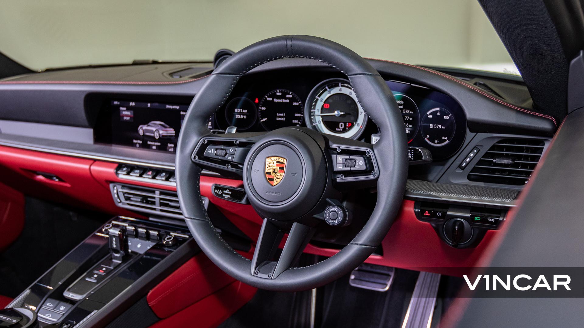 PORSCHE 911 CARRERA (CRAYON)-GT Sports Steering Wheel