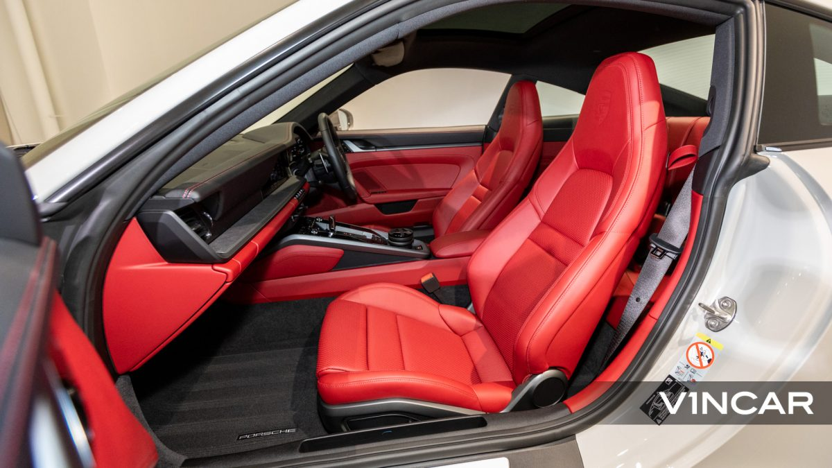 PORSCHE 911 CARRERA (CRAYON)-Passenger Seat