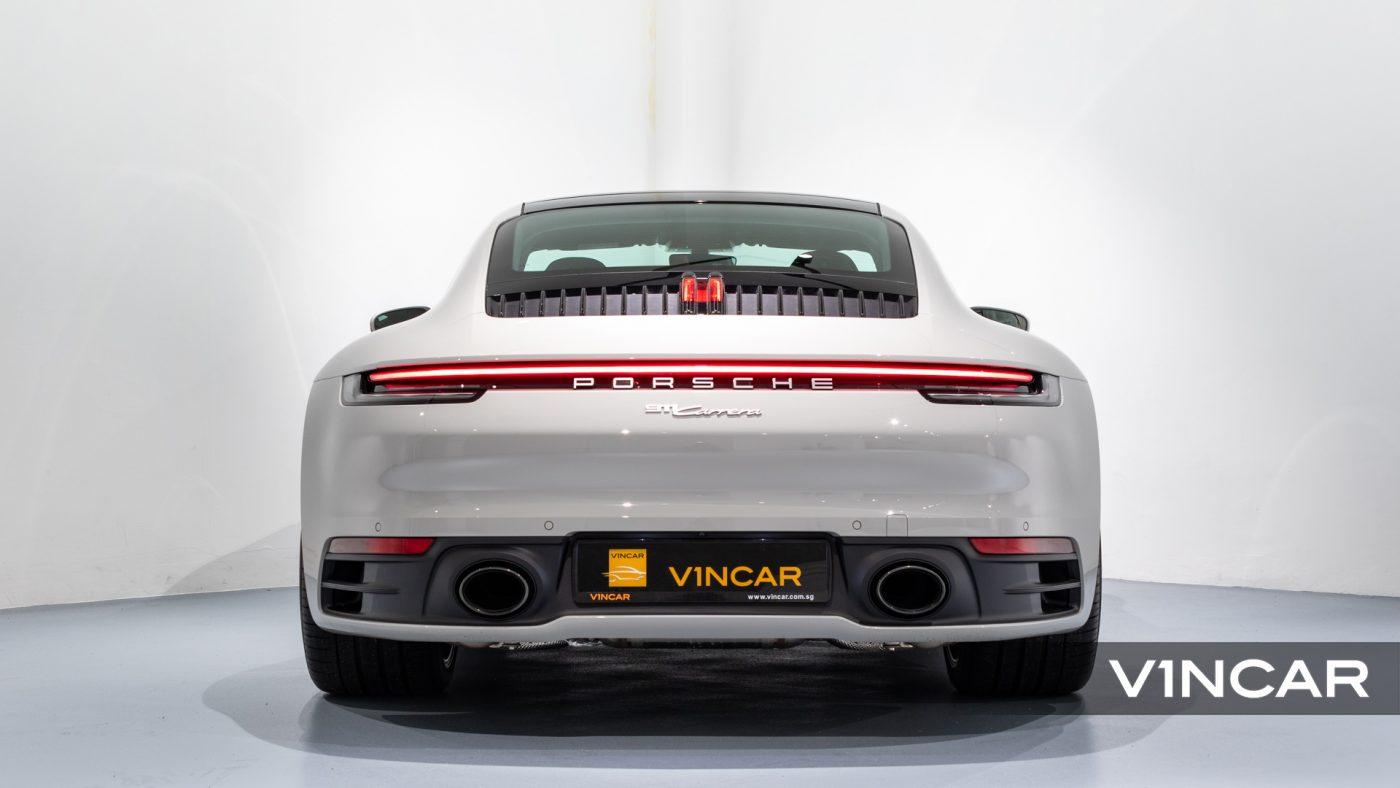 PORSCHE 911 CARRERA (CRAYON)-Rear Direct