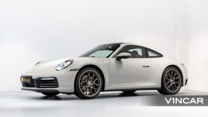 PORSCHE 911 CARRERA (CRAYON)-Side Profile