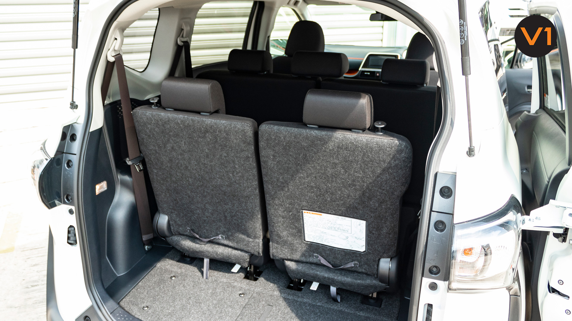 Toyota Sienta 1.5G Hybrid (New Facelift) - Rear Seat Trunk