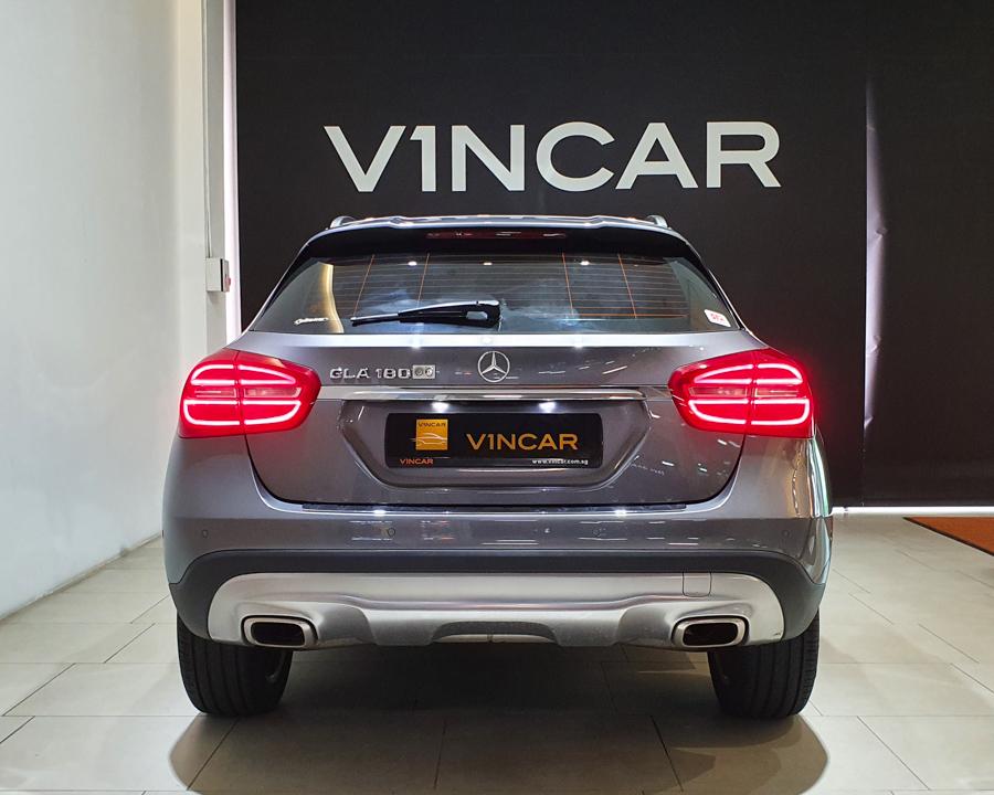 2016 Mercedes-Benz GLA-Class GLA180 - Rear Direct