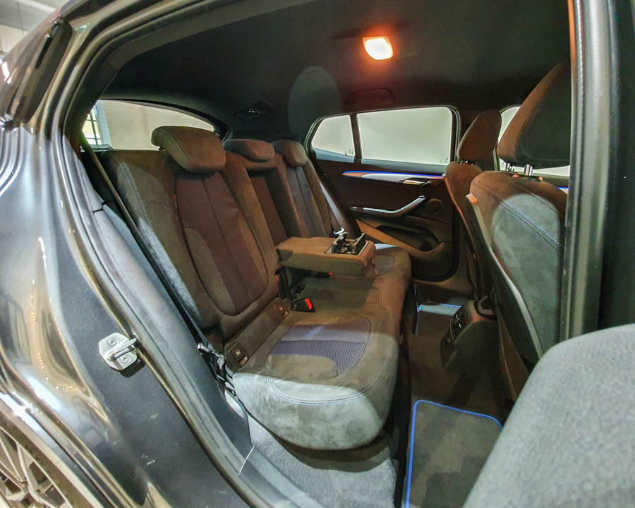 2020 BMW X2 sDrive20i M-Sport X - Rear Seat