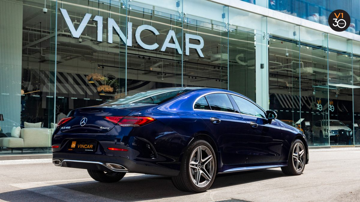 Mercedes-Benz CLS450 AMG Coupe 4MATIC Premium Plus - Rear Angle