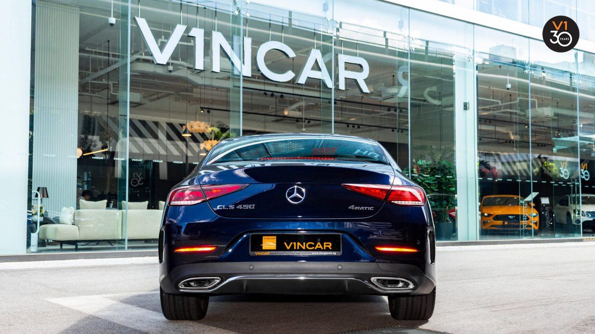 Mercedes-Benz CLS450 AMG Coupe 4MATIC Premium Plus - Rear Direct