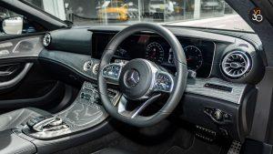 Mercedes-Benz CLS450 AMG Coupe 4MATIC Premium Plus - Steering Wheel