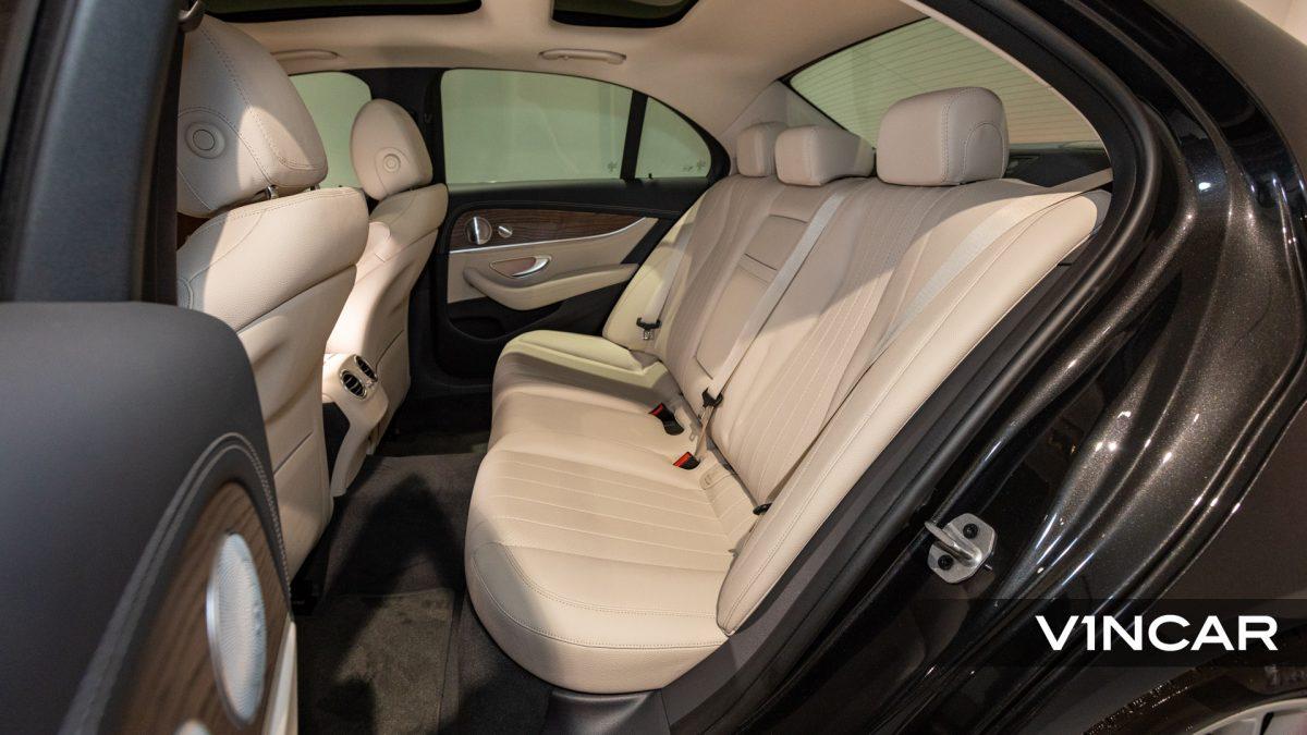 Mercedes-Benz E200 Saloon Exclusive (FL2021) - Back Passenger Seat