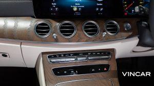 Mercedes-Benz E200 Saloon Exclusive (FL2021) - HVAC System