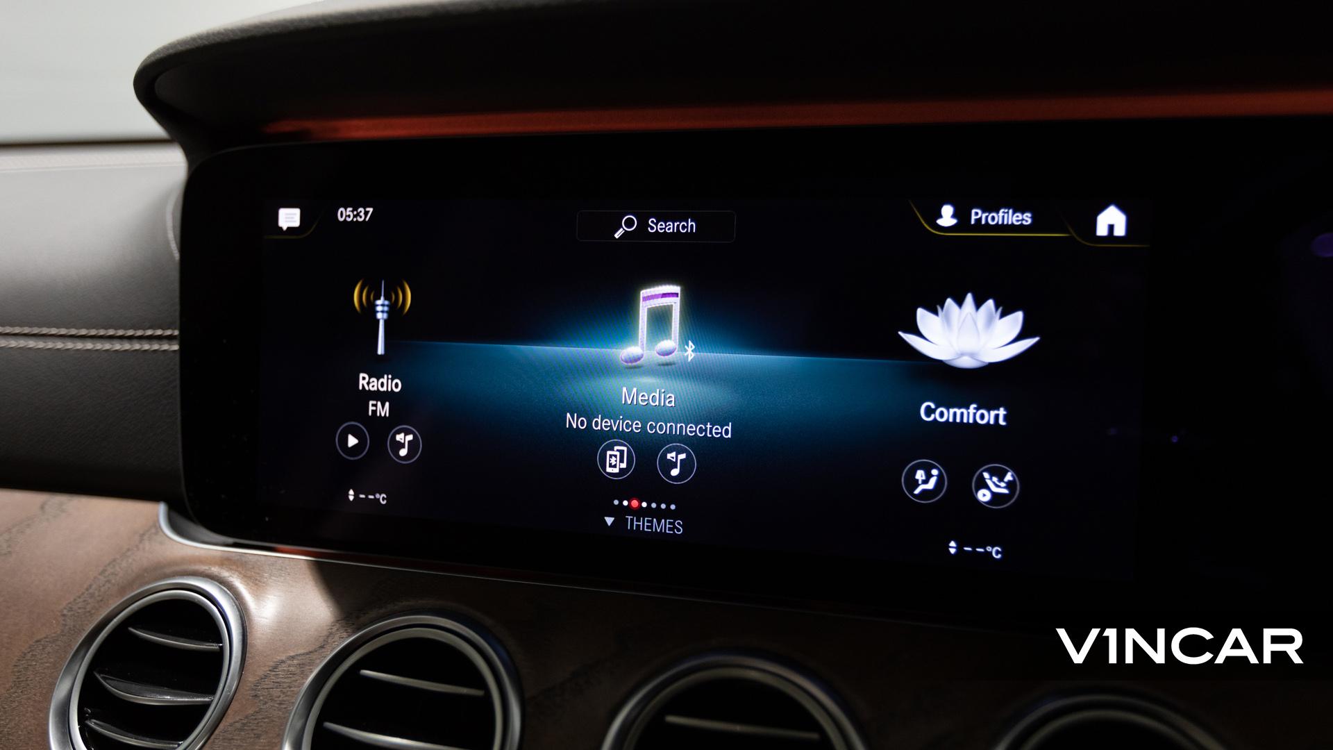 Mercedes-Benz E200 Saloon Exclusive (FL2021) - Infotainment System