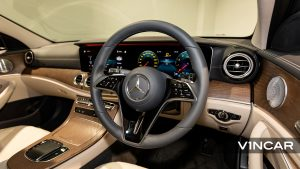 Mercedes-Benz E200 Saloon Exclusive (FL2021) - Multifunction Steering Wheel