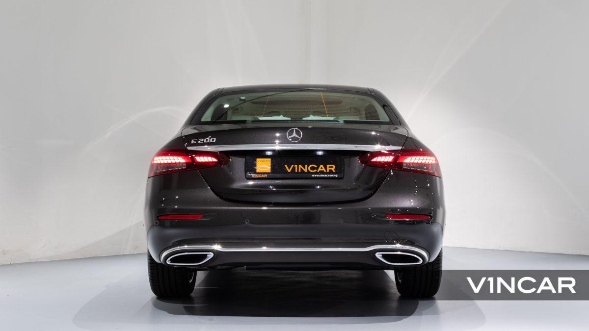 Mercedes-Benz E200 Saloon Exclusive (FL2021) - Rear Direct