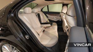 Mercedes-Benz E200 Saloon Exclusive (FL2021) - Rear Seat