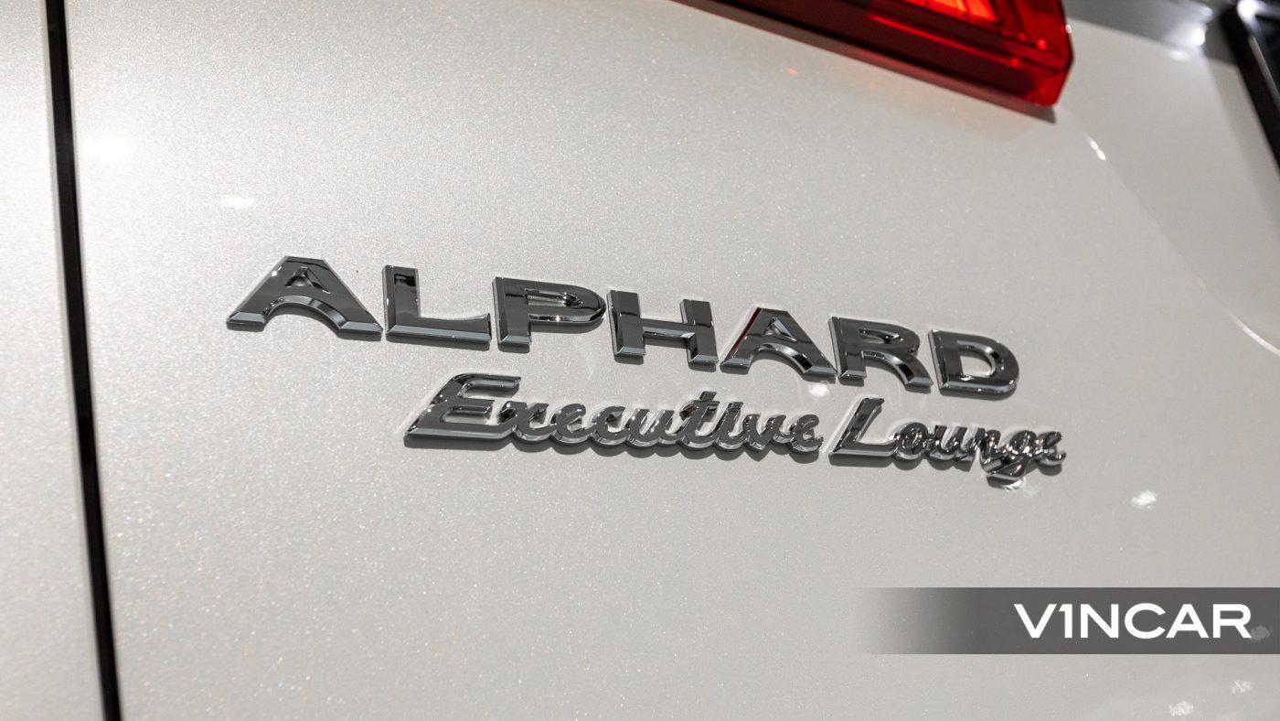 Toyota Alphard 3.5 Executive Lounge S (FL2020) - Alphard Executive Lounge Badge