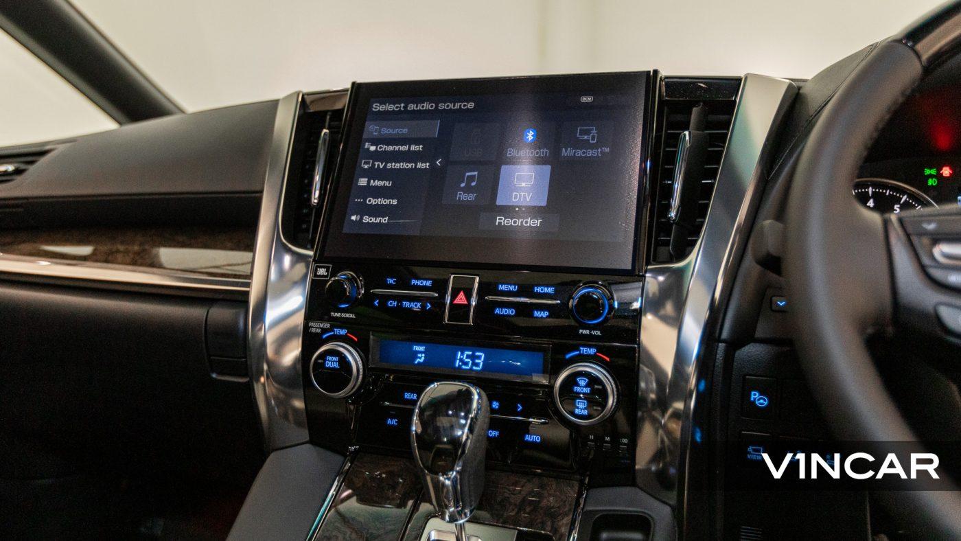 Toyota Alphard 3.5 Executive Lounge S (FL2020) - Infotainment