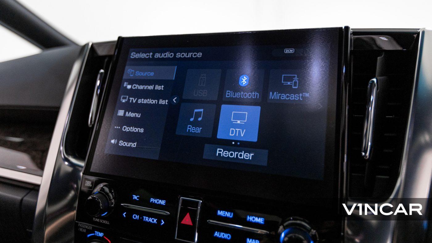 Toyota Alphard 3.5 Executive Lounge S (FL2020) - Infotainment System